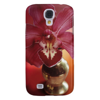 Exotic Orchid in Vase Galaxy S4 Case