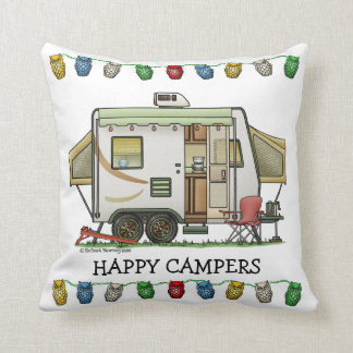 Expandable Hybred Trailer Camper Cushion