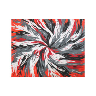 Exploding Optimism Gallery Wrapped Canvas