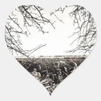 Explore Heart Sticker
