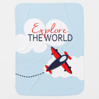 Explore the World Swaddle Blankets