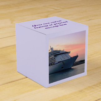 Explorer at Evening Personalized Favour Box
