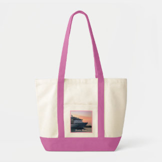 Explorer at Evening Personalized Impulse Tote Bag