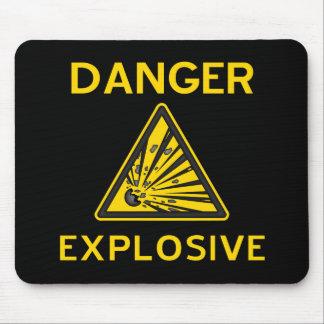 Explosive Warning Mousepad