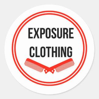 Exposure logo sticker