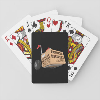Express Delivery Playing Cards
