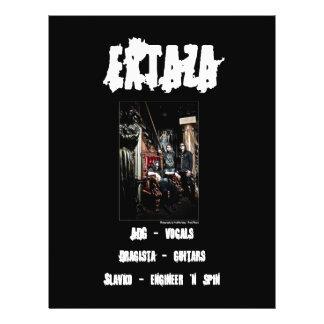 Extaza Band Flyer