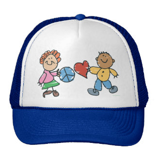 Extended Hands of Peace and Love Cap
