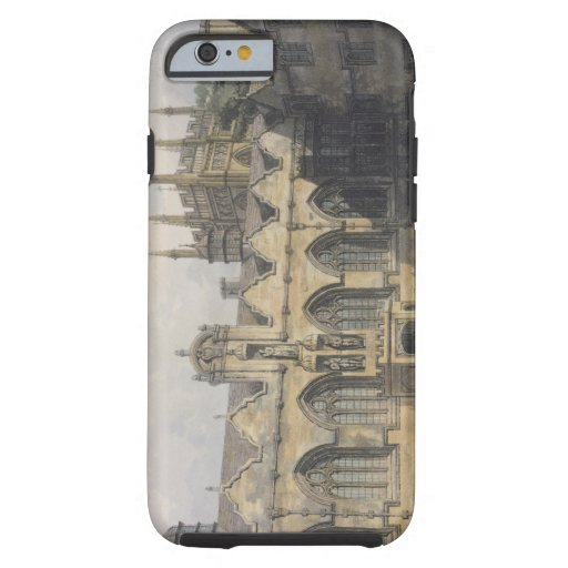 Exterior of Oriel College, illustration from the ' iPhone 6 Case