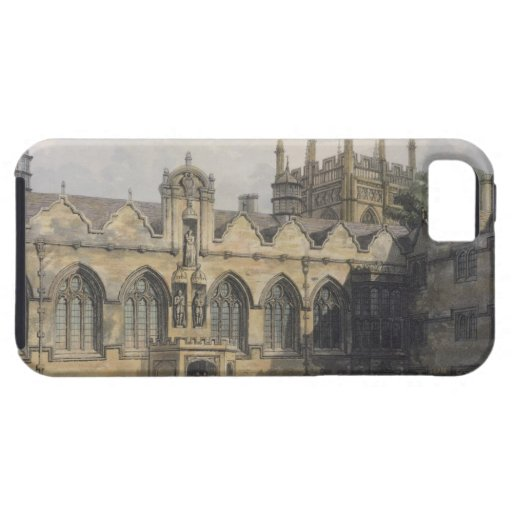 Exterior of Oriel College, illustration from the ' iPhone 5 Cases