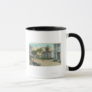 Exterior View of Court House Mug