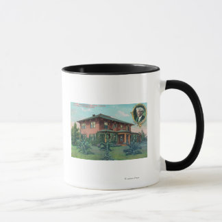 Exterior View of Luther Burbank's Residence Mug