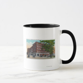 Exterior View of the Carlton Hotel Mug