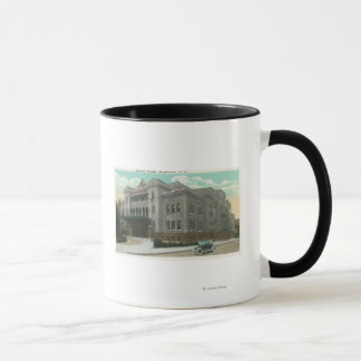 Exterior View of the Kalurah Temple Mug