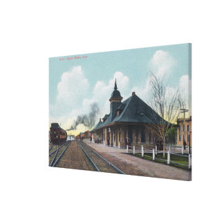 Exterior View of the OSL Depot Boise, ID Canvas Print