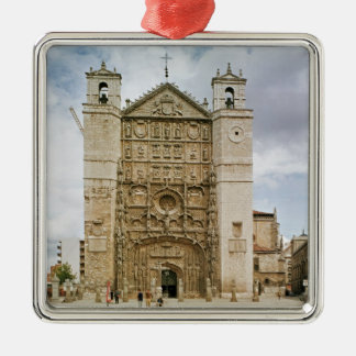 Exterior view of the west fa�ade christmas ornament