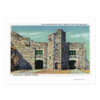 Exterior View of Whiteface Mt Castle Postcard
