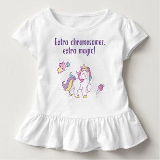 Extra Chromosome Magic Unicorn Toddler T-Shirt
