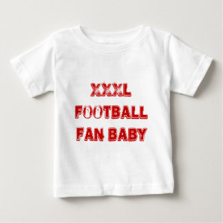 Extra Large Football Fan Baby T-Shirt