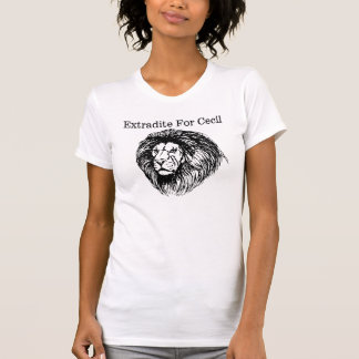 Extradite For Cecil The Lion T-Shirt