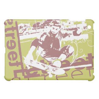 Extreme Sports Skateboarding Green  iPad Mini Covers