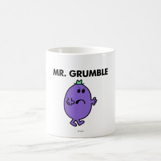 Extremely Unhappy Mr. Grumble Coffee Mug