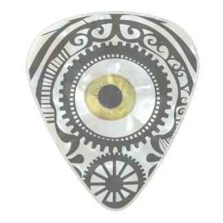 Eye Candy Goldeneye Pearl Celluloid Guitar Pick