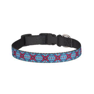Eye Candy  Tiled   Dog Collars, 3 sizes Dog Collar