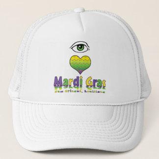 Eye Love Mardi Gras Trucker Hat