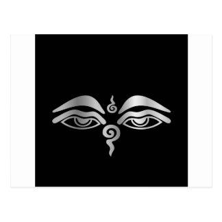 Eye of Buddha- Buddhism Symbol Postcard