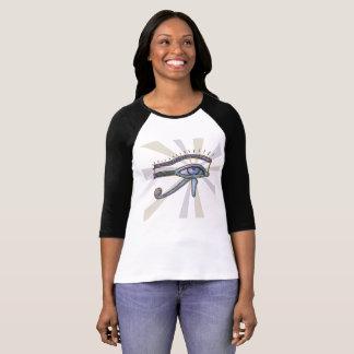 Eye of Horus design for women's  T shirt. T-Shirt