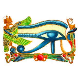 Eye Of Horus, Egyptian Good Luck Charm Photo Sculptures