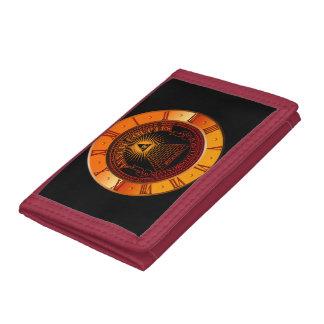 Eye of Providence clock Tri-fold Wallet
