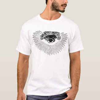 EYE OF PROVIDENCE T-SHIRT all seeing god masonic