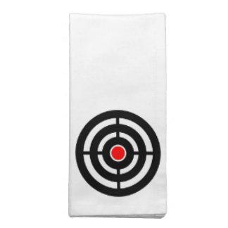 Eye on The Target - Bullseye Print Napkin