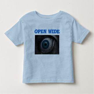 Eye Open Wide toddler shirt