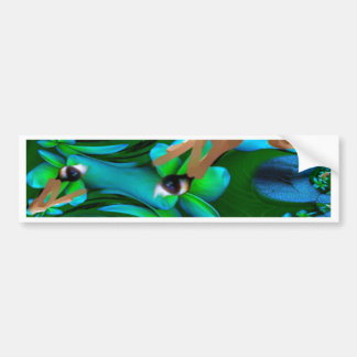 Eye Picked the Flowers Product Car Bumper Sticker
