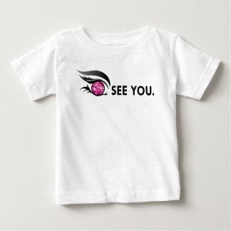 "EYE SEE YOU ""BURGUNDY"" BABY T-Shirt"