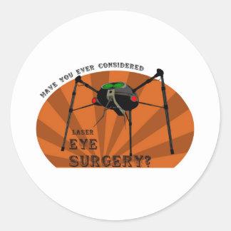 Eye Surgery Round Sticker