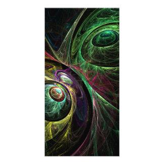 Eye to Eye Abstract Art Photo Card