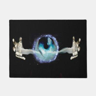 eye with hangs doormat