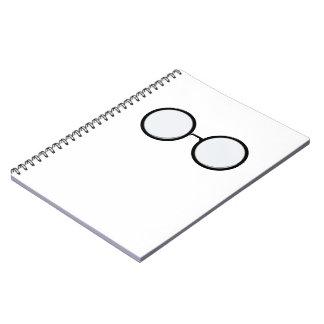 Eyeglasses photo notebook