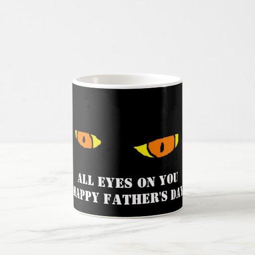 EYES HAPPY FATHERS DAY MUG