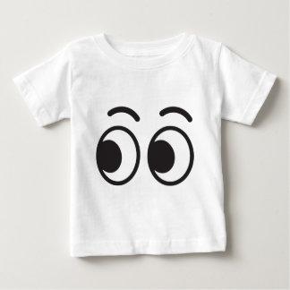 Eyes looking emoji baby T-Shirt