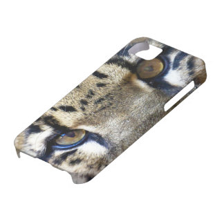 Eyes of a clouded leopard iPhone 5 case