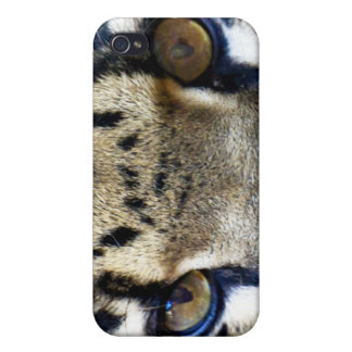 Eyes of a clouded leopard iPhone 4 cover