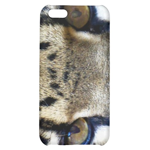 Eyes of a clouded leopard iPhone 5C case