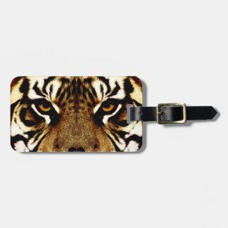 Eyes of a Tiger Travel Bag Tags