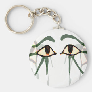 Eyes of Egypt gifts & greetings Basic Round Button Key Ring