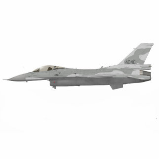 F16 Fighting Falcon Drawing Cutout Standing Photo Sculpture